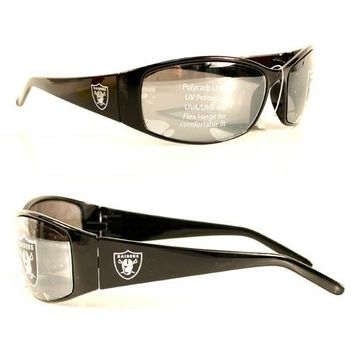 Raiders Sunglasses - Black STRAIGHT Style #27871