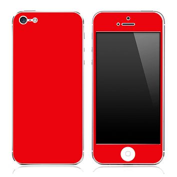 Red skin for the iPhone 3g,3gs,4/4s or 5