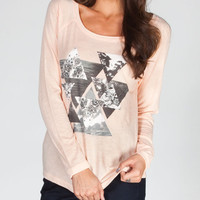 Billabong We Me And Them Womens Tee Peach  In Sizes