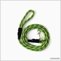 Happy Valley Dog Green Rope Leash (5ft)