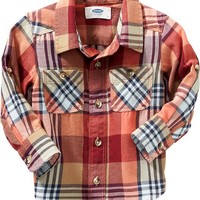 Old Navy Plaid Flannel Shirts For Baby