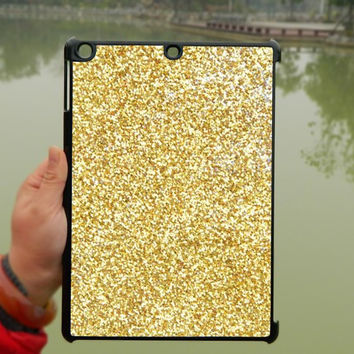 Gold Glitter iPad Case,iPad mini Case,iPad Air Case,iPad 3 Case,iPad 4 Case,ipad case,ipad cover, ipad mini cover ipad air,iPad 2/3/4-166