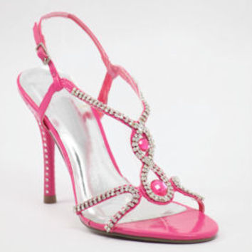 """Pink Prom shoes with 4"""" heels (Style 800-15)"""
