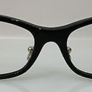 NEW AUTHENTIC GUCCI GG 3528/U/F COL 07H BLACK PLASTIC EYEGLASSES FRAME 52MM