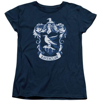 Harry Potter - Ravenclaw Crest Short Sleeve Women's Tee Shirt Officially Licensed T-Shirt