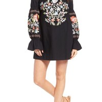 Free People Fleur Du Joir Shift Dress | Nordstrom