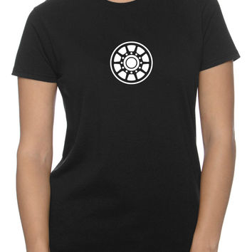 Arc Reactor LadiesT-Shirt (XS - 3XL)