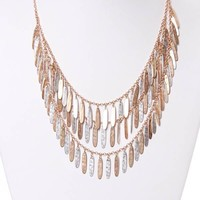 Let It Fall Necklace - Foreign Exchange
