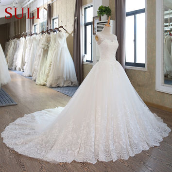 SL-102 Lace Corset Wedding Gowns Plus Size Wedding Dresses Bridal Gown Turkey
