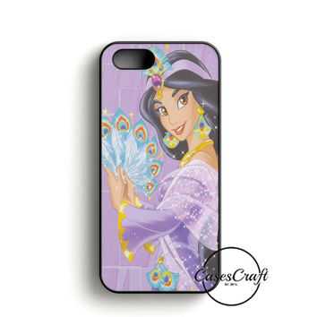 Princess Jasmine iPhone 5/5S/SE Case