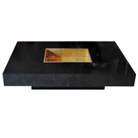 Willy Rizzo coffeetable with Ice Cube Box