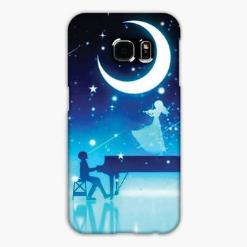 Kaori Your Lie In April Moonlight Samsung Galaxy S7 Edge Case