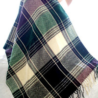 green blanket scarf, blanket shawl, scarves for women, soft scarf, cozy scarf, trendy scarf