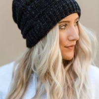 Need It Knit Beanie - Black