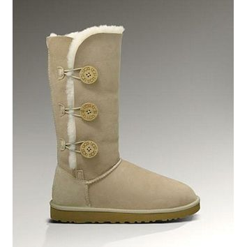 Ugg Bailey Button Triplet 1873 Sand Boots I