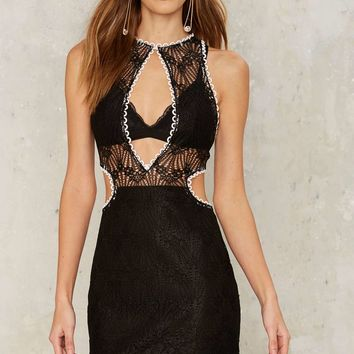 Asilio Roulette Revenge Lace Dress