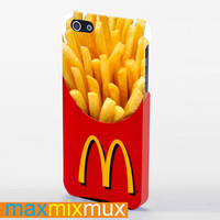 Mcdonalds French Fries iPhone 4/4S, 5/5S, 5C Series Full Wrap Case