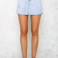 Thirteen Reasons Why Skirt Denim