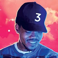 "Chance The Rapper Poster 24in x 36in - Coloring Book Rapper - singer - songwriter ""FREE 8X10 POSTER"""