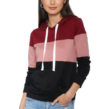 Jac Parker Color Blocked Pullover