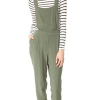 Kelly Crepe Overalls