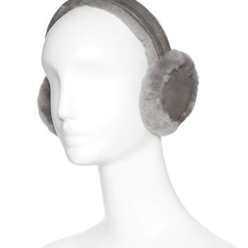 Wired shearling earmuffs