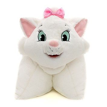 Marie Aristocats Pillow Pet Pal Disney Plush Disney Parks Authentic New NWT