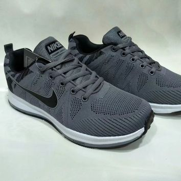 """Nike"" Men Sport Casual Fashion Flyknit Sneakers Running Shoes"