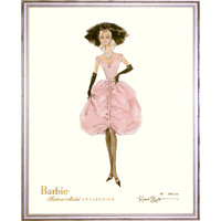 Limited Edition Vintage Tiffani Barbie Print