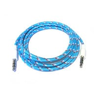 Charge Cords - Cotton Candy Auxiliary Cable - Blue