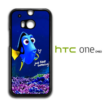 Just Keep Swimming Dory HTC One M8 Case
