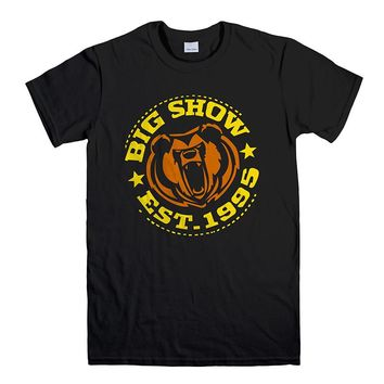 WWE WRESTLING BIG SHOW CROSSBONES Men's T-Shirt