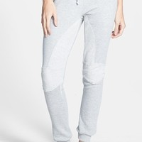 Junior Women's Standards & Practices Reverse French Terry Inset Jogger Pants