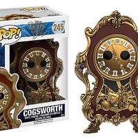 Funko POP Disney: Beauty & The Beast Movie - Cogsworth Vinyl Figure