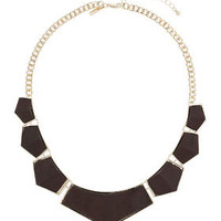 Wooden Collar - Gold