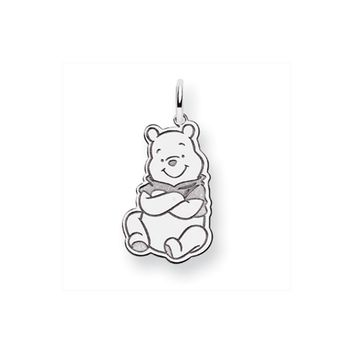 Disney's Sterling Silver Pooh Bear Full Body Charm