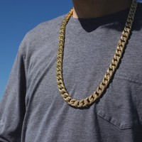 Elite CZ Cuban Link Chain (14mm)