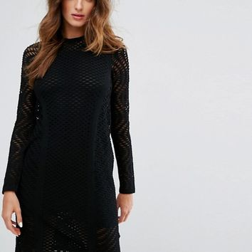 M Missoni Sheer Knit Evening Dress at asos.com
