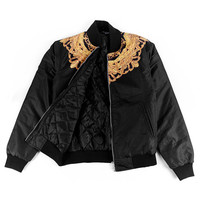Medallion Yoke Bomber Jacket