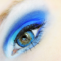 Royal Vision Macaron Blue Circle Lens Fashion Colored Contacts Korean Contact Lenses | EyeCandy's