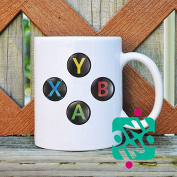 Xbox One Controller Coffee Mug, Ceramic Mug, Unique Coffee Mug Gift Coffee
