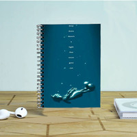 Kingdom Hearts Quote Photo Notebook Auroid