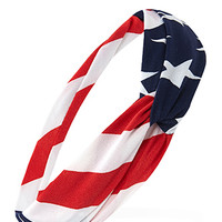 Stars and Stripes Twisted Headwrap