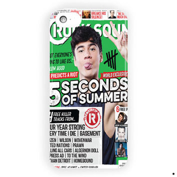Calum Hood 5 Seconds Of Summer Poster For iPhone 5 / 5S / 5C Case