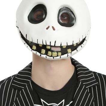 Licensed cool The Nightmare Before Christmas Jack Skellington Full Face Costume Cosplay Mask