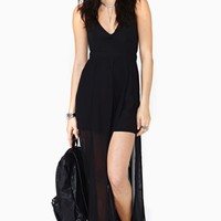 Nasty Gal Stolen Night Maxi Dress - Final Sale