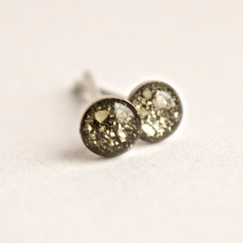 4mm Pyrite Earrings. Pyrite Stud Earrings. Rough Pyrite Stud Earrings. Raw Pyrite Studs. Raw Pyrite Stud Earrings. Rough Pyrite Studs.