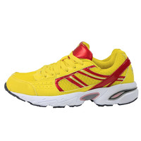 2016 New Women's Run Shoes Fashion Yellow and Red Air Mesh Athletic Breathable Sport Shoes Casual Sneakers Running Shoes