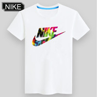 ADIDAS & NIKE United Tide Brand Fashion Fluorescent Short Sleeve NIKE