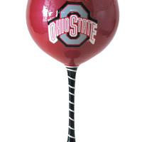 Ohio State Buckeyes Artisan Wine Glass
